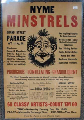 NYME-Minstrels-Broadside