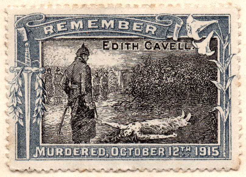 Cavell-Propaganda-Stamp