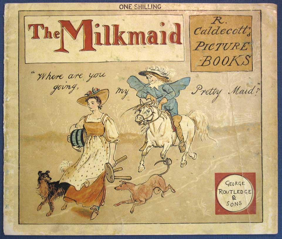 Randolph_Caldecott_Milkmaid