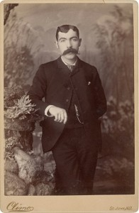 A typical Albumen Cabinet Card