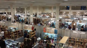 The Seattle Antiquarian Book Fair. Let's play Where's Waldo with Vic! First to find him gets a 2% discount (What? I said we made money, not that we were bathing in it).