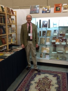 The Tavistock Books booth with Vic Zoschak!