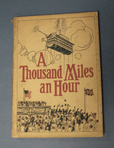 """Our holding of """"A Thousand Miles an Hour"""" - in theory, a great idea, if only slightly* unrealistic!"""