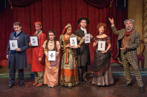 "A theatre production of ""Drood"" when the audience is helping choose the ending themselves!"