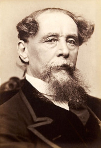 Dickens, toward the end of his life.