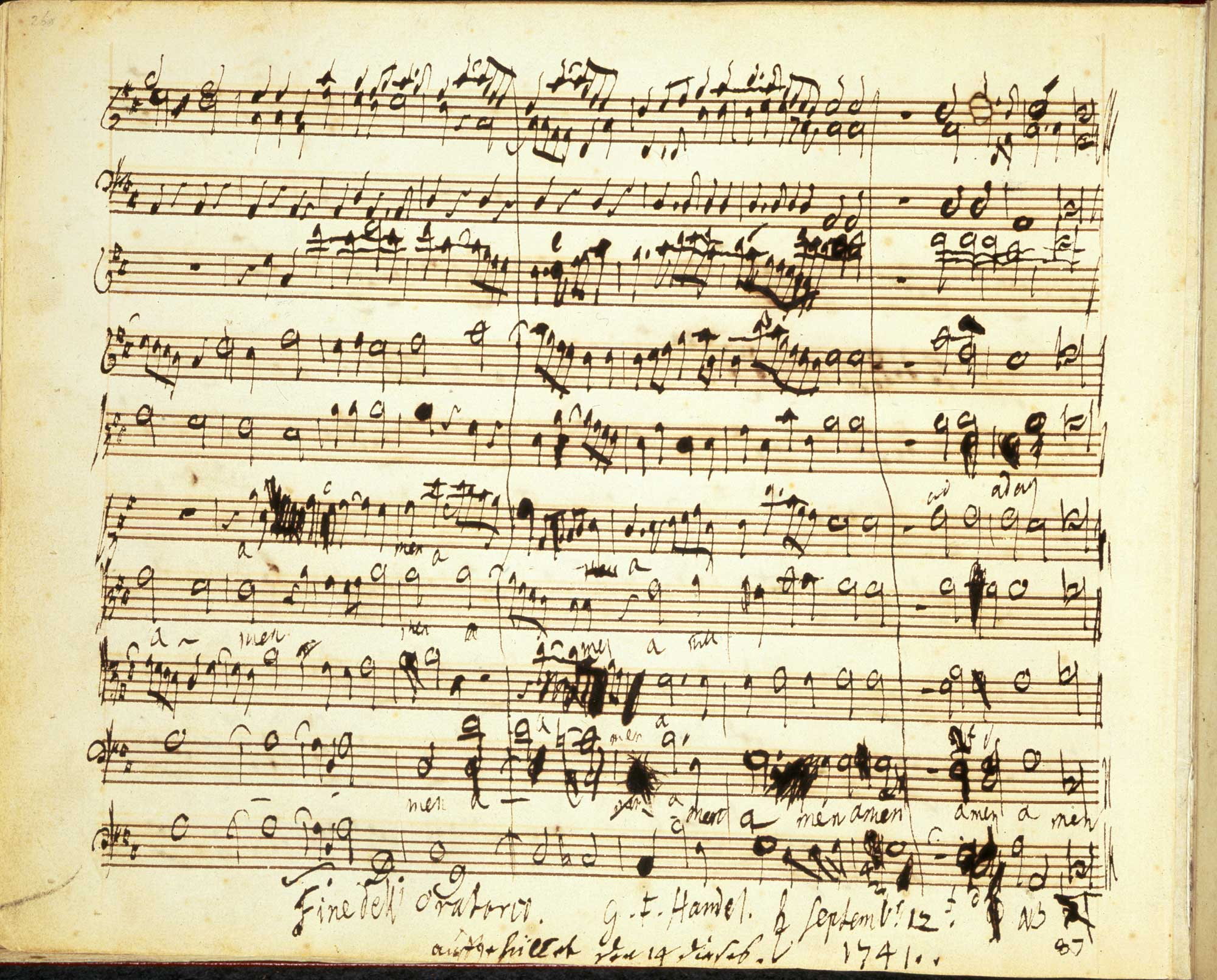 an analysis of the music by handel List of works by george frideric handel  a pasticcio opera containing music by handel and performed by the middlesex opera company.