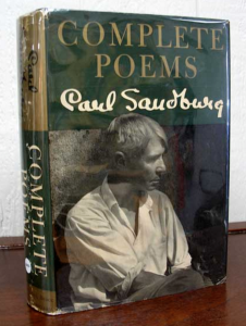 View our holding of Sandburg's Complete Poems (an Inscribed Presentation Copy, by the way) here!