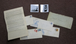 Our Richard Halliburton Archive, complete with letters about his daring voyage (which would be his last) aboard a Chinese Junk Ship attempting to cross the Pacific ocean.