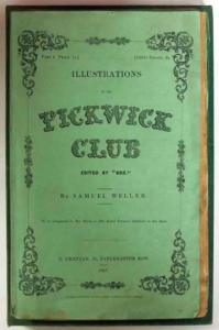 Check out our holding of Pickwick illustrations, circa 1837!