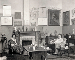 Stein and Alice B. Toklas in her Paris sitting room - second home to many of the Lost Generation.