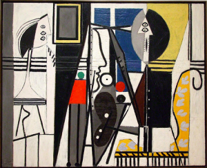 One of Picasso's 1920s works done in Paris.
