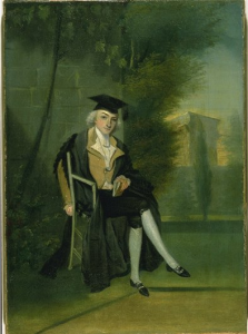 A young Smithson from his days at Oxford.