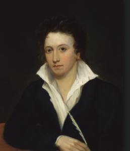 Percy Shelley, the love of Mary's life!