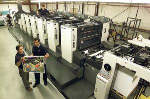 A modern day printing press!