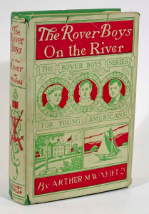 Our affordable copy of The Rover Boys on the River, one of the series known to be Stratemeyer's favorite!