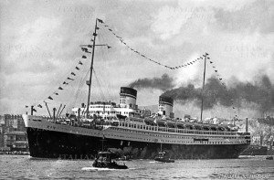 The Italian cruise liner, S.S. Rex (www.italianliners.com)
