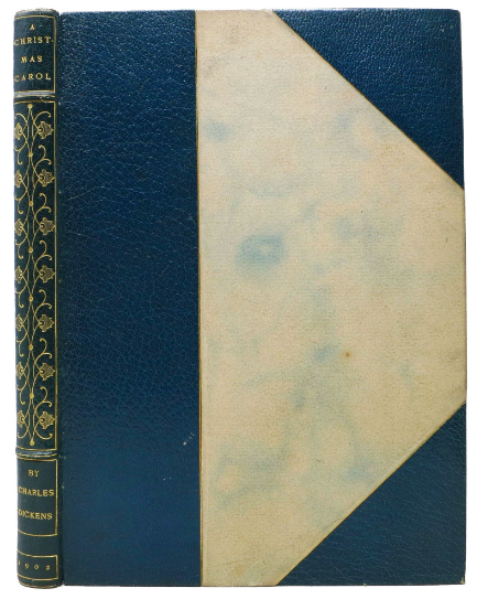 Our 1902 Elbert Hubbard published holding of A Christmas Carol! See it here.