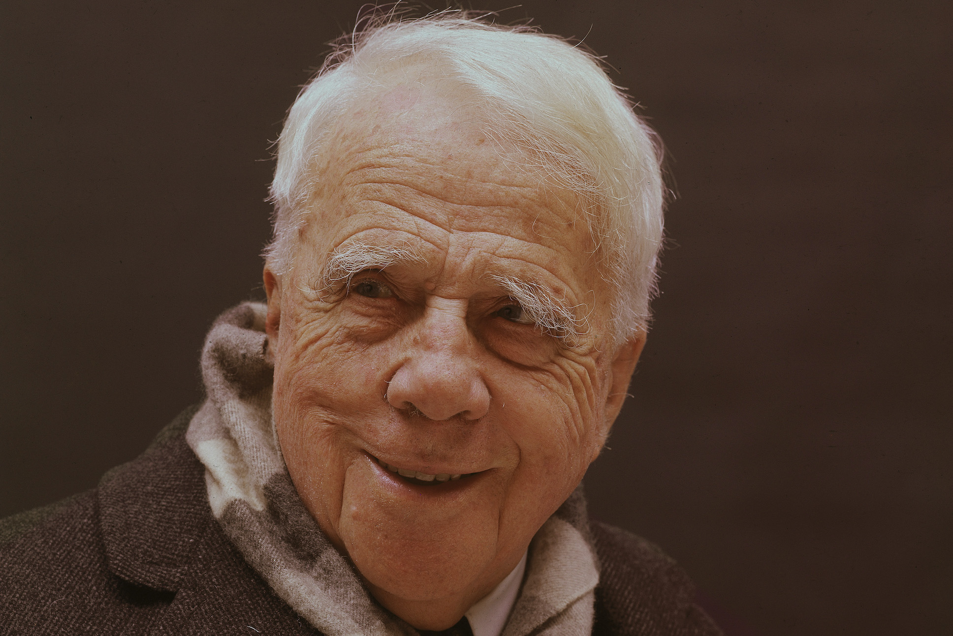 Portrait Of Robert Frost