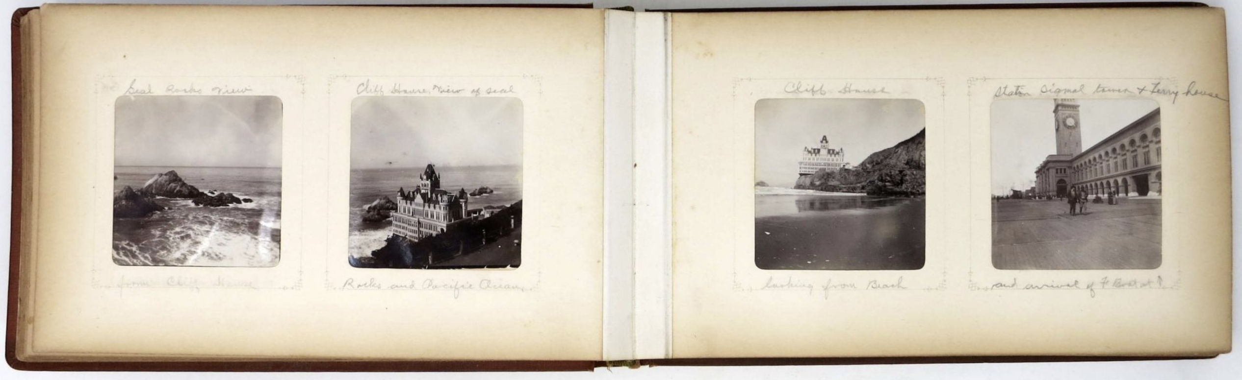 This family travel photo album dates back to the turn of the century... the 20th century, that is, and focuses on California, New Mexico, Arizona, Kansas, Alabama and Texas. Check it out here.