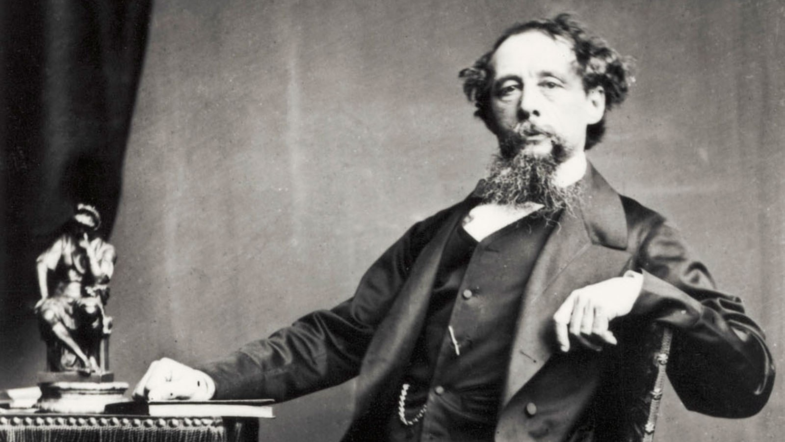 Charles Dickens - Portrait of the British novelist.
