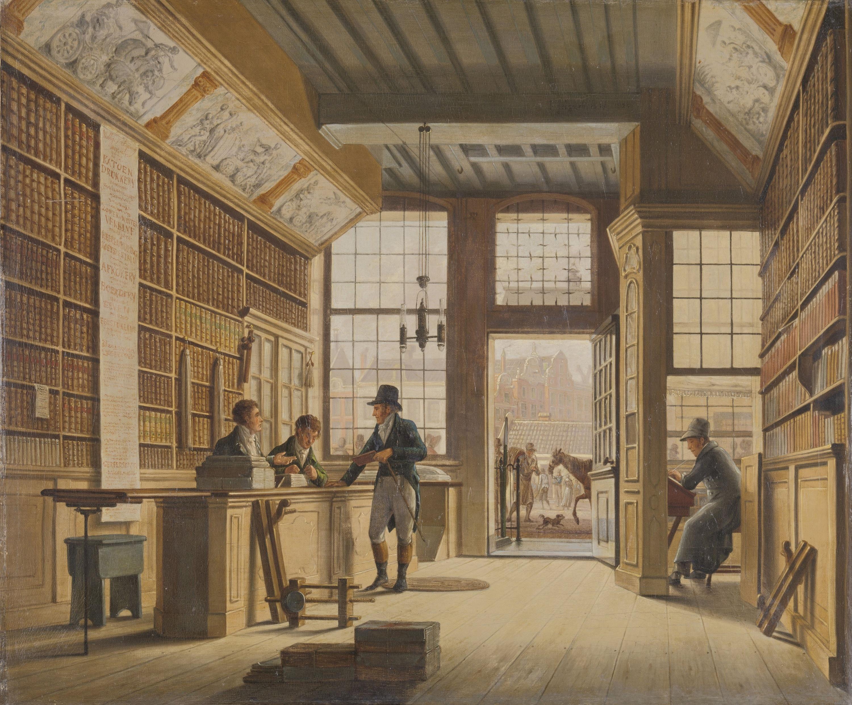 Book,Shop,Of,Pieter,Meijer,Warnars,On,The,Vijgendam,In